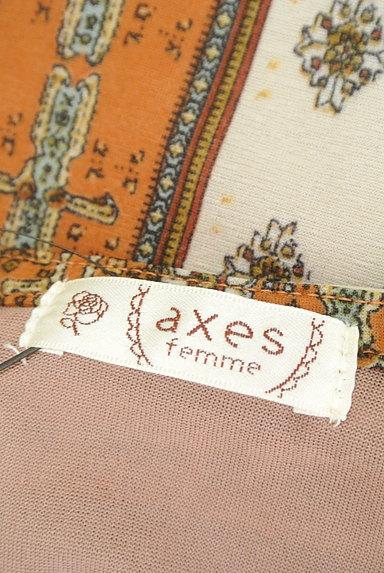 axes femme(アクシーズファム)の古着「アシンメトリーフリルブラウス(カットソー・プルオーバー)」大画像6へ