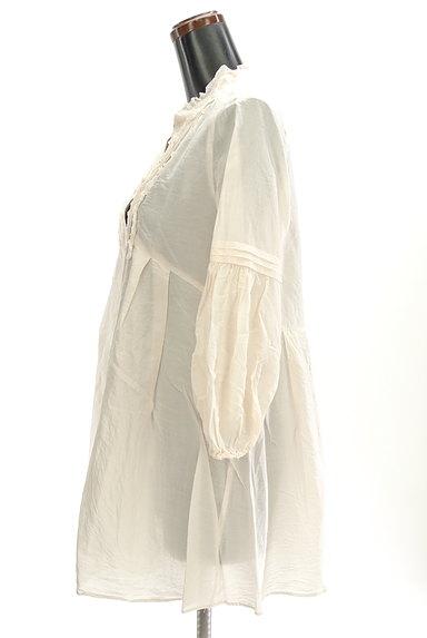 BEATRICE(ベアトリス)の古着「スキッパーロングブラウス(カットソー・プルオーバー)」大画像3へ