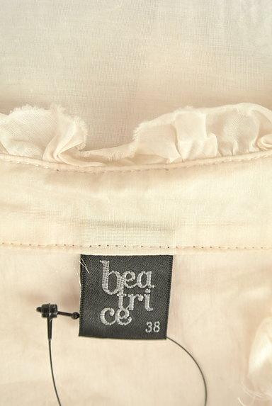 BEATRICE(ベアトリス)の古着「スキッパーロングブラウス(カットソー・プルオーバー)」大画像6へ