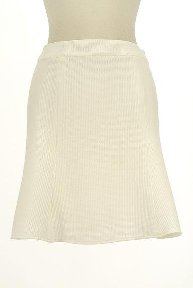 QUEENS COURT(クイーンズコート)の古着「膝上丈ワッフルフレアスカート(スカート)」大画像1へ