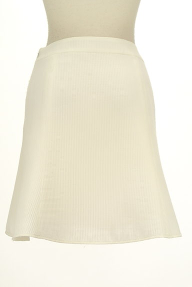 QUEENS COURT(クイーンズコート)の古着「膝上丈ワッフルフレアスカート(スカート)」大画像2へ