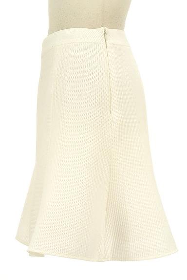 QUEENS COURT(クイーンズコート)の古着「膝上丈ワッフルフレアスカート(スカート)」大画像3へ