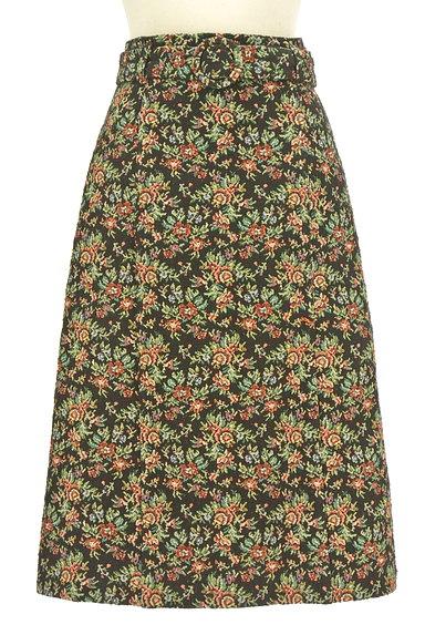 QUEENS COURT(クイーンズコート)の古着「ゴブラン織フレアスカート(スカート)」大画像1へ