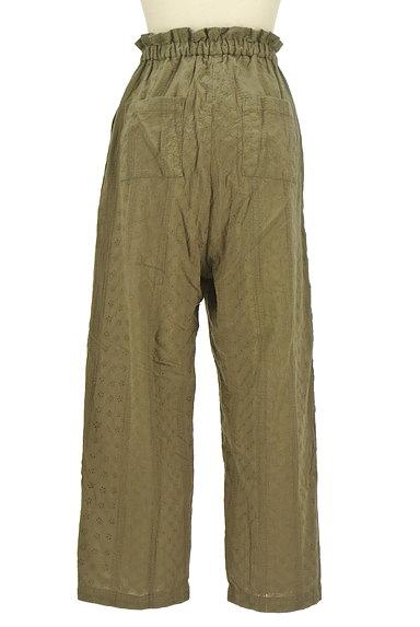 RODEO CROWNS(ロデオクラウン)の古着「カットワークレースワイドパンツ(パンツ)」大画像2へ