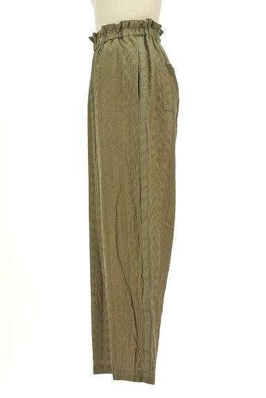 RODEO CROWNS(ロデオクラウン)の古着「カットワークレースワイドパンツ(パンツ)」大画像3へ