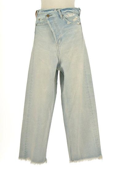 RODEO CROWNS(ロデオクラウン)の古着「カットオフワイドデニムパンツ(デニムパンツ)」大画像1へ