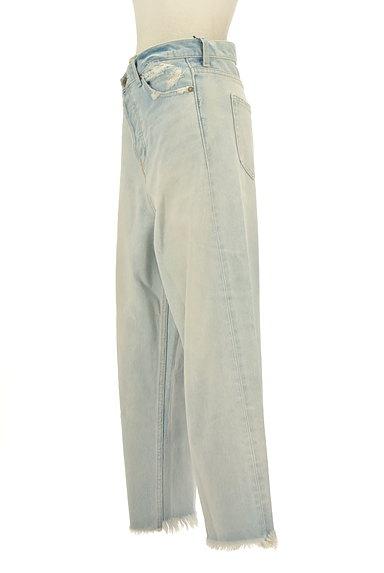 RODEO CROWNS(ロデオクラウン)の古着「カットオフワイドデニムパンツ(デニムパンツ)」大画像3へ
