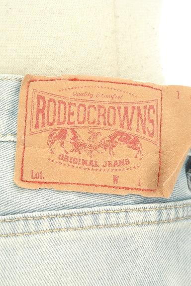 RODEO CROWNS(ロデオクラウン)の古着「カットオフワイドデニムパンツ(デニムパンツ)」大画像6へ