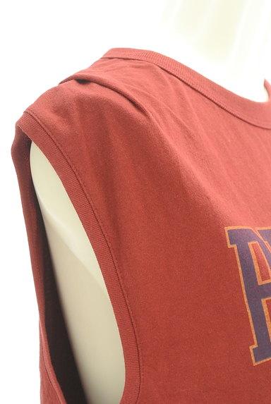 MOUSSY(マウジー)の古着「ロゴカットソー(カットソー・プルオーバー)」大画像4へ
