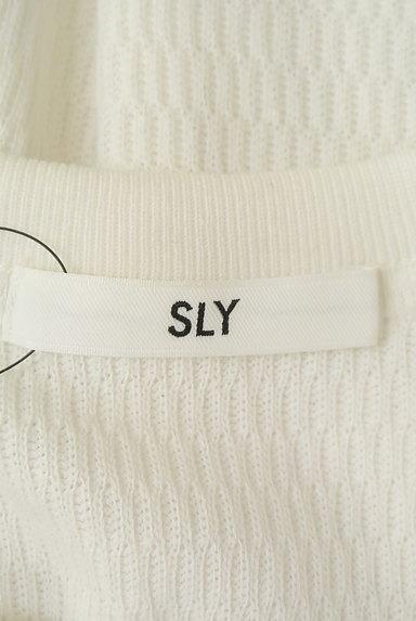 SLY(スライ)の古着「バックスリットロングニット(ニット)」大画像6へ