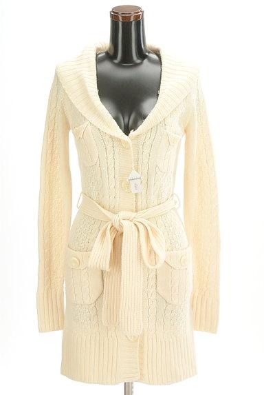 JILLSTUART(ジルスチュアート)の古着「ファー襟ロングカーディガン(カーディガン・ボレロ)」大画像4へ