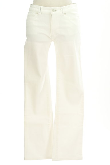 LAISSE PASSE(レッセパッセ)の古着「シンプルストレートパンツ(デニムパンツ)」大画像1へ