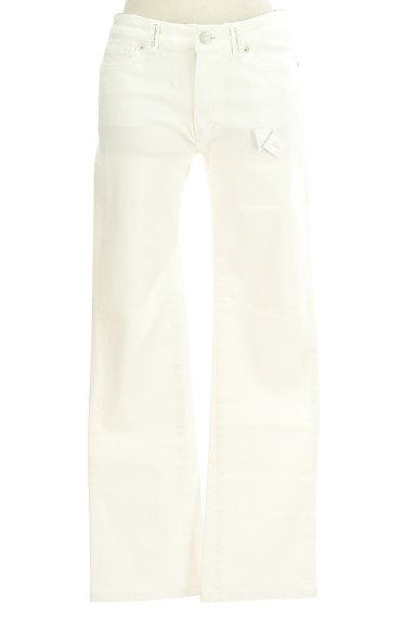 LAISSE PASSE(レッセパッセ)の古着「シンプルストレートパンツ(デニムパンツ)」大画像4へ