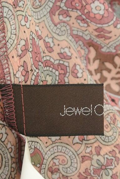 Jewel Changes(ジュエルチェンジズ)の古着「ペイズリー柄シフォンブラウス(カットソー・プルオーバー)」大画像6へ