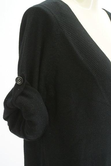 JILLSTUART(ジルスチュアート)の古着「Vネックニットコクーンワンピース(ニット)」大画像5へ