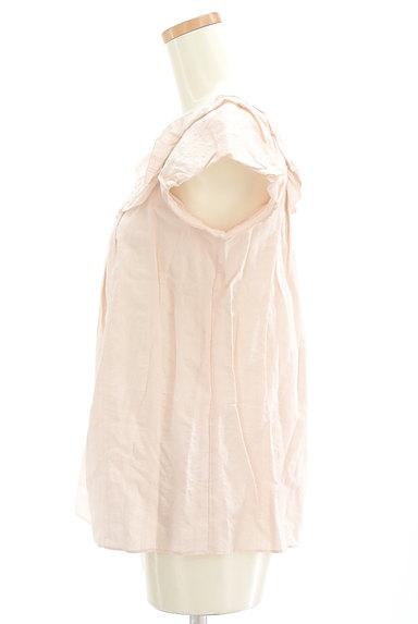 JILLSTUART(ジルスチュアート)の古着「フリルコットンブラウス(カットソー・プルオーバー)」大画像3へ