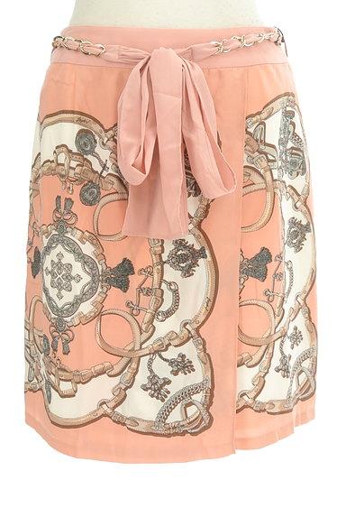 JUSGLITTY(ジャスグリッティー)の古着「総柄シルキースカート(スカート)」大画像1へ