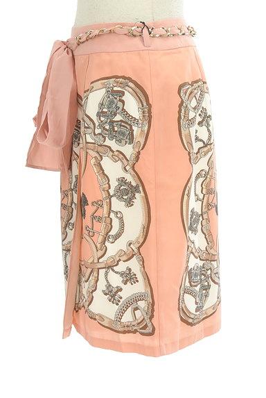 JUSGLITTY(ジャスグリッティー)の古着「総柄シルキースカート(スカート)」大画像3へ