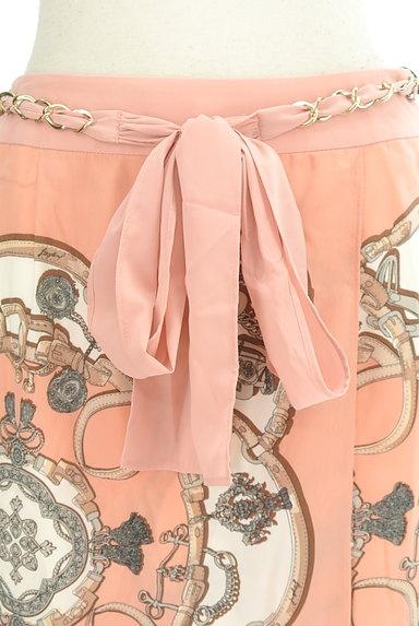 JUSGLITTY(ジャスグリッティー)の古着「総柄シルキースカート(スカート)」大画像4へ