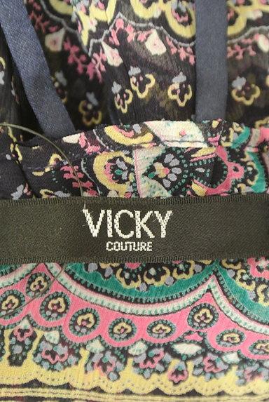 VICKY(ビッキー)の古着「ペイズリー柄シフォンブラウス(カットソー・プルオーバー)」大画像6へ