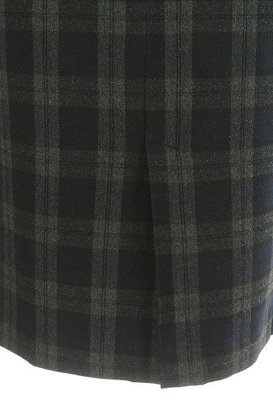 Spick and Span(スピック&スパン)の古着「チェック柄膝下丈タイトスカート(スカート)」大画像5へ