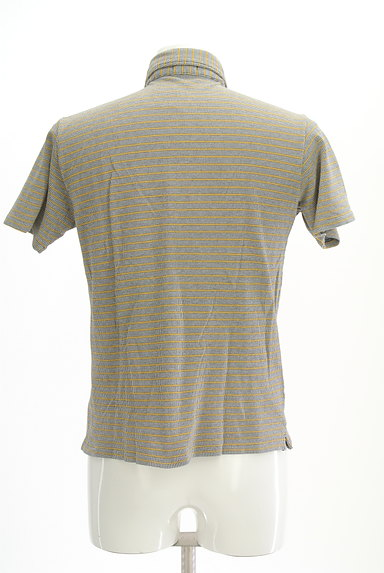BEAMS(ビームス)の古着「ボーダーポロシャツ(ポロシャツ)」大画像2へ