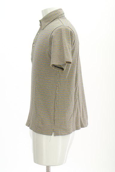 BEAMS(ビームス)の古着「ボーダーポロシャツ(ポロシャツ)」大画像3へ