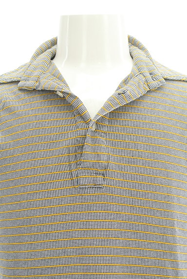 BEAMS(ビームス)の古着「ボーダーポロシャツ(ポロシャツ)」大画像4へ