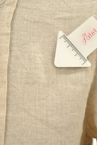 CUBE SUGAR(キューブシュガー)の古着「ナチュラル7分袖ブラウスシャツ(カジュアルシャツ)」大画像5へ
