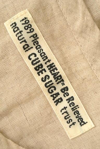 CUBE SUGAR(キューブシュガー)の古着「ナチュラル7分袖ブラウスシャツ(カジュアルシャツ)」大画像6へ