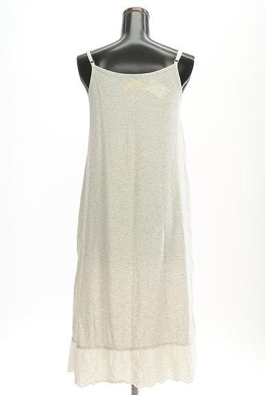 CUBE SUGAR(キューブシュガー)の古着「裾レースキャミマキシワンピース(キャミワンピース)」大画像2へ
