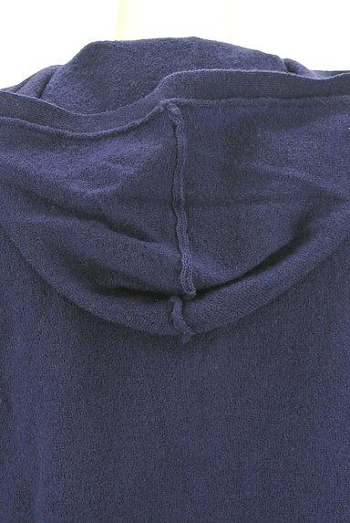 CUBE SUGAR(キューブシュガー)の古着「ウッドボタンニットパーカー(ニット)」大画像5へ