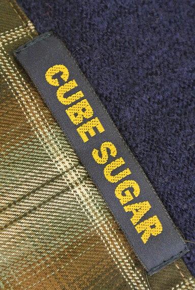 CUBE SUGAR(キューブシュガー)の古着「ウッドボタンニットパーカー(ニット)」大画像6へ