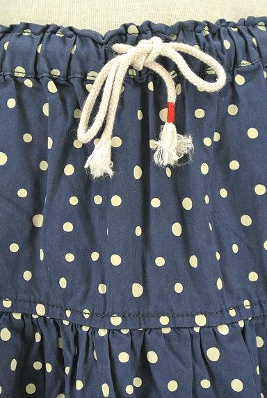 CUBE SUGAR(キューブシュガー)の古着「ドット柄膝下丈フレアスカート(スカート)」大画像4へ