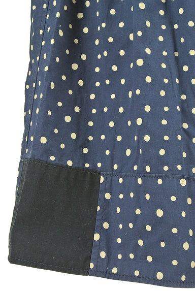 CUBE SUGAR(キューブシュガー)の古着「ドット柄膝下丈フレアスカート(スカート)」大画像5へ