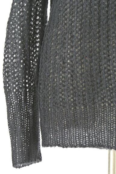 CUBE SUGAR(キューブシュガー)の古着「タートルネックロングローゲージニット(セーター)」大画像5へ