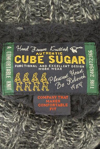 CUBE SUGAR(キューブシュガー)の古着「タートルネックロングローゲージニット(セーター)」大画像6へ