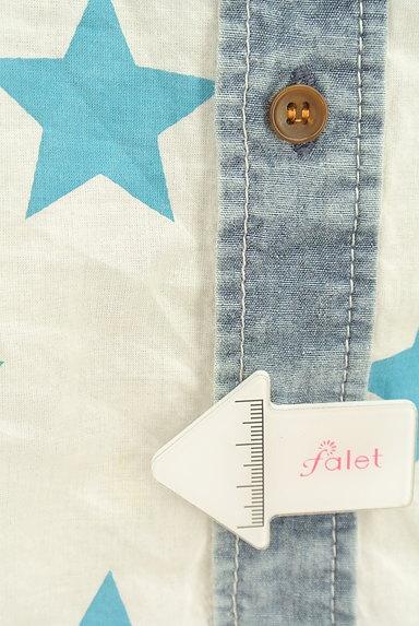 CUBE SUGAR(キューブシュガー)の古着「スター柄カジュアルシャツ(カジュアルシャツ)」大画像5へ