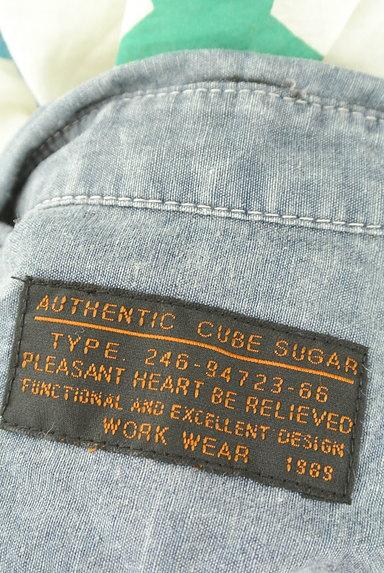 CUBE SUGAR(キューブシュガー)の古着「スター柄カジュアルシャツ(カジュアルシャツ)」大画像6へ