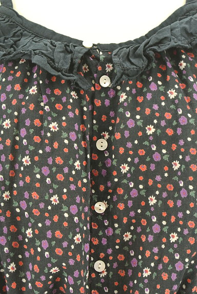 CUBE SUGAR(キューブシュガー)の古着「小花柄キャミソール(キャミソール・タンクトップ)」大画像4へ