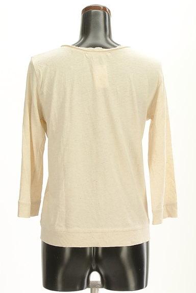 CUBE SUGAR(キューブシュガー)の古着「フリルピンタック7分袖カットソー(カットソー・プルオーバー)」大画像2へ