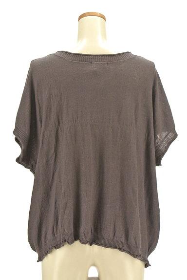 SM2(サマンサモスモス)の古着「ひまわり刺繍ワイドニット(ニット)」大画像2へ
