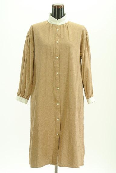 SM2(サマンサモスモス)の古着「バイカラー衿起毛ワンピース(ワンピース・チュニック)」大画像4へ