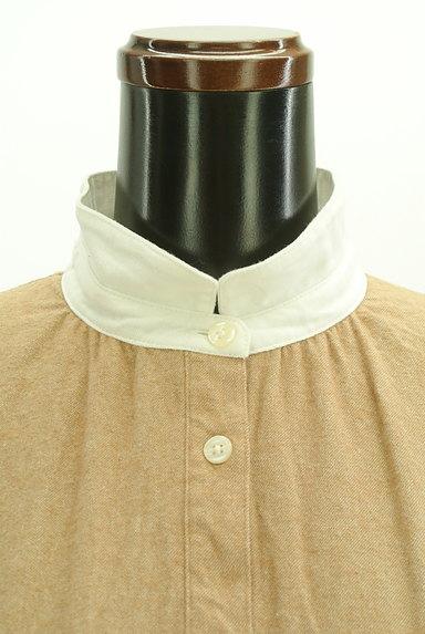 SM2(サマンサモスモス)の古着「バイカラー衿起毛ワンピース(ワンピース・チュニック)」大画像5へ
