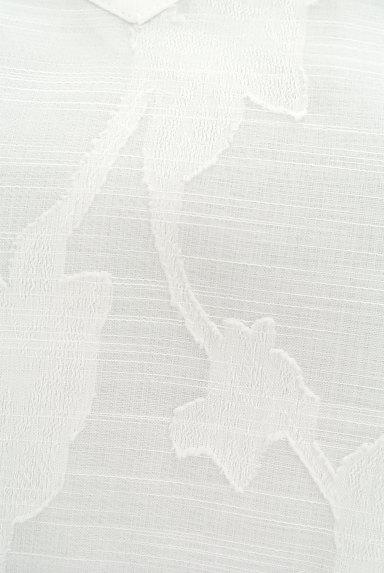 Te chichi(テチチ)の古着「ボタニカル柄五分袖ブラウス(カットソー・プルオーバー)」大画像5へ