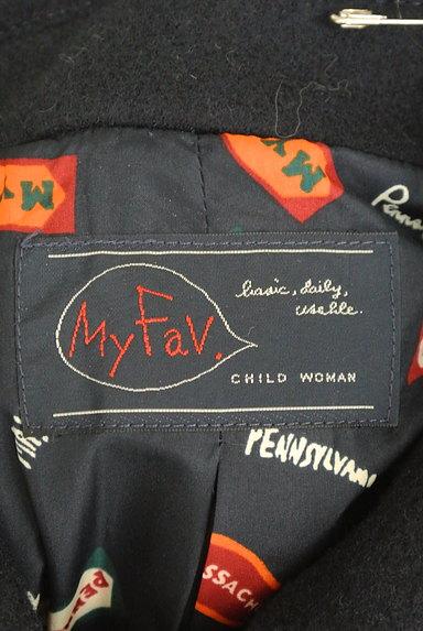 CHILD WOMAN(チャイルドウーマン)の古着「襟付きロングウールコート(コート)」大画像6へ