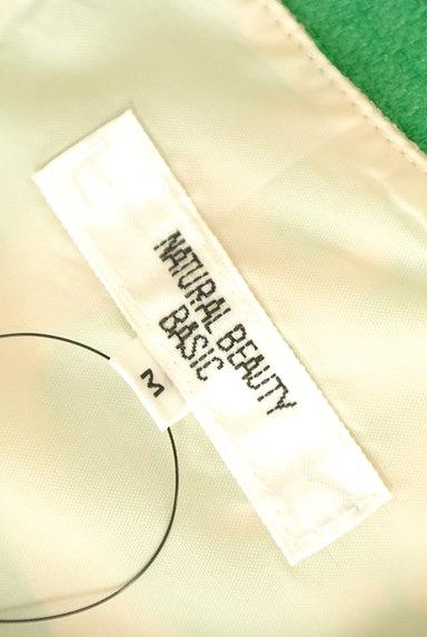 NATURAL BEAUTY BASIC(ナチュラルビューティベーシック)の古着「リゾート花柄Iラインワンピース(ワンピース・チュニック)」大画像6へ