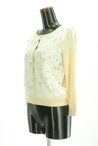 anatelier(アナトリエ)の古着「フロント刺繍レースカーディガン(カーディガン・ボレロ)」大画像3へ