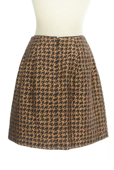 Te chichi(テチチ)の古着「ゴールド千鳥柄タックスカート(スカート)」大画像2へ