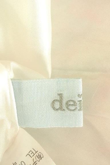 deicy(デイシー)の古着「バックリボンフレア袖花柄ワンピ(ワンピース・チュニック)」大画像6へ